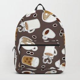 Coffee Lover Pattern Backpack