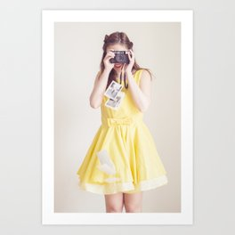 Oh, these photographs! Art Print