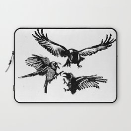 Crow Parliament Laptop Sleeve