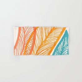 Tropical Flora - Retro Palette Hand & Bath Towel