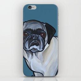 Murphy the pug iPhone Skin