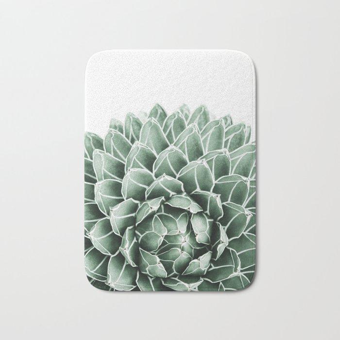 Succulent splendour Bath Mat