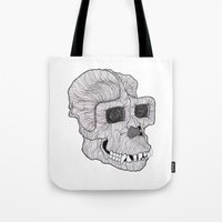 ape Tote Bags featuring Ape by Camelo