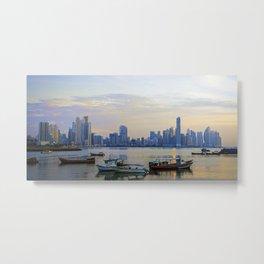 Panama City Bay - At the Edge of Dawn Metal Print