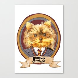 Hairy Pawter's: Hairmione Grrranger Canvas Print