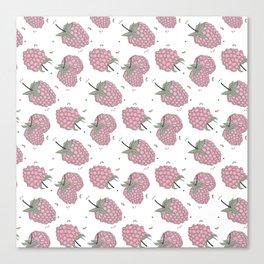 Pink raspberry Canvas Print