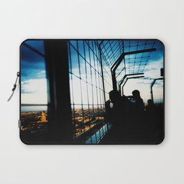 Eiffel Tower Silhouettes Laptop Sleeve