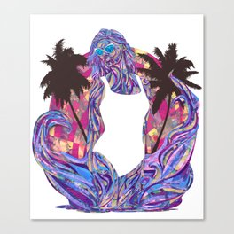 Cali for the Summer Canvas Print