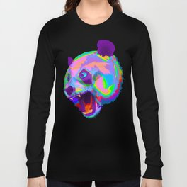 Prismatic Panda  Long Sleeve T-shirt