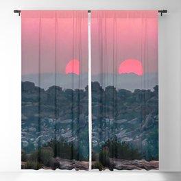 Otherworldly sunrise of Hampi, India Blackout Curtain