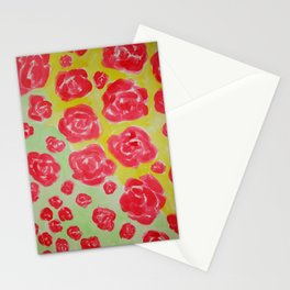 Rose Shower Stationery Cards