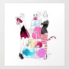 Tis the season to be giving! Art Print