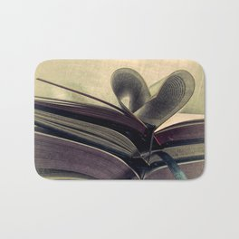 For the Love of Books A429 Bath Mat