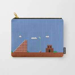 home at last! Original Mario Brothers Castle Carry-All Pouch