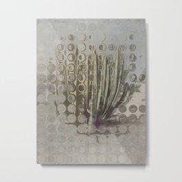 Distortion Metal Print