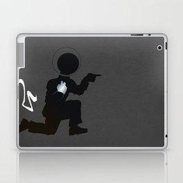 Doing the Moonwalk Backwards But Running. Laptop & iPad Skin