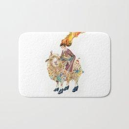 The sheep and the princess Bath Mat