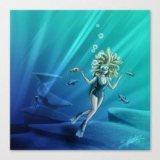 Deep Sea Feelings (Evolve) Canvas Print