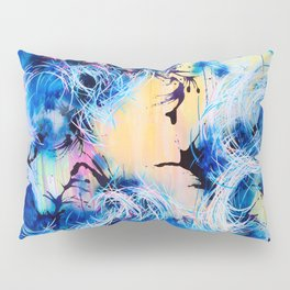 Falling Towards The Sky Pillow Sham