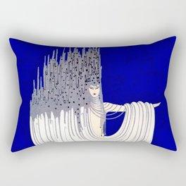 """North Sea"" Art Deco Design by Erté Rectangular Pillow"