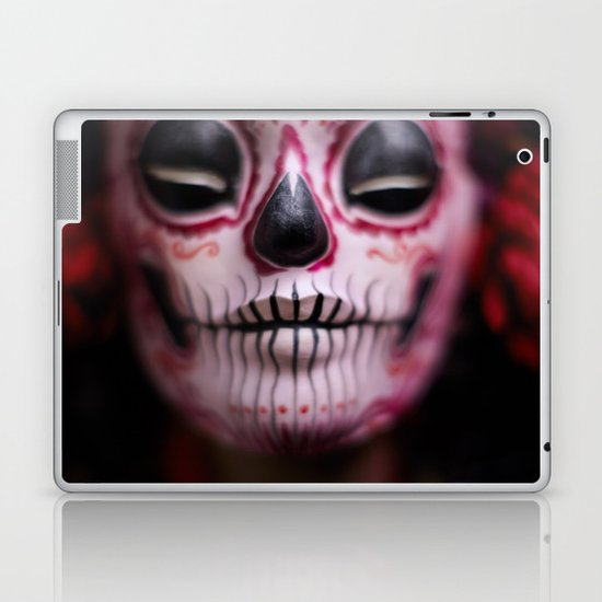 Midnight Harvest Muertita Detail Laptop & iPad Skin