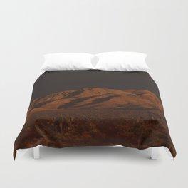Desert Alpenglow - II Duvet Cover