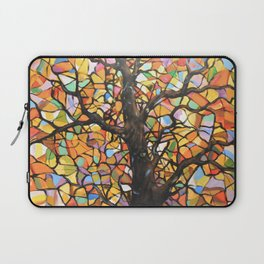 Stained Glass Tree #2 Laptop Sleeve