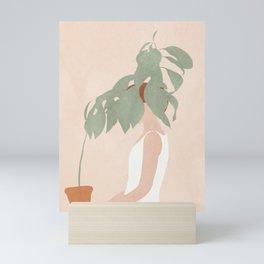 Lost in Leaves Mini Art Print