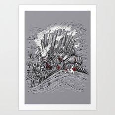 The Smog Monster Art Print