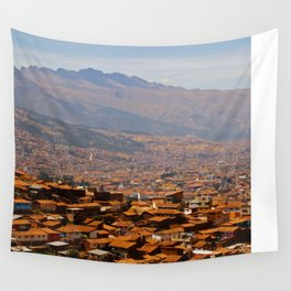 Above Cusco Wall Tapestry