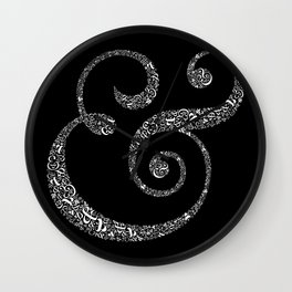 The Ampersand of Ampersands Wall Clock