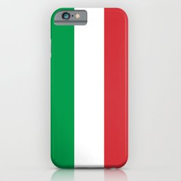Flag of Italy - Italian flag iPhone Case