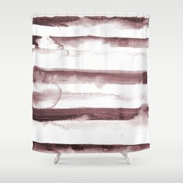 sepia dab Shower Curtain