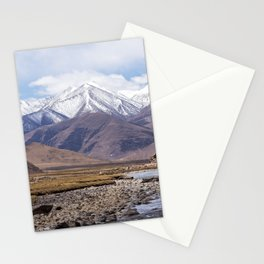 Tibet typical mountain landscape Stationery Cards