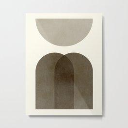 Abstraction_Shape_Moon_03 Metal Print