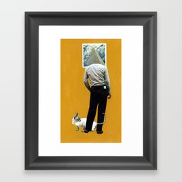 tower head Framed Art Print