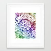 zen Framed Art Prints featuring Zen by Alohalani