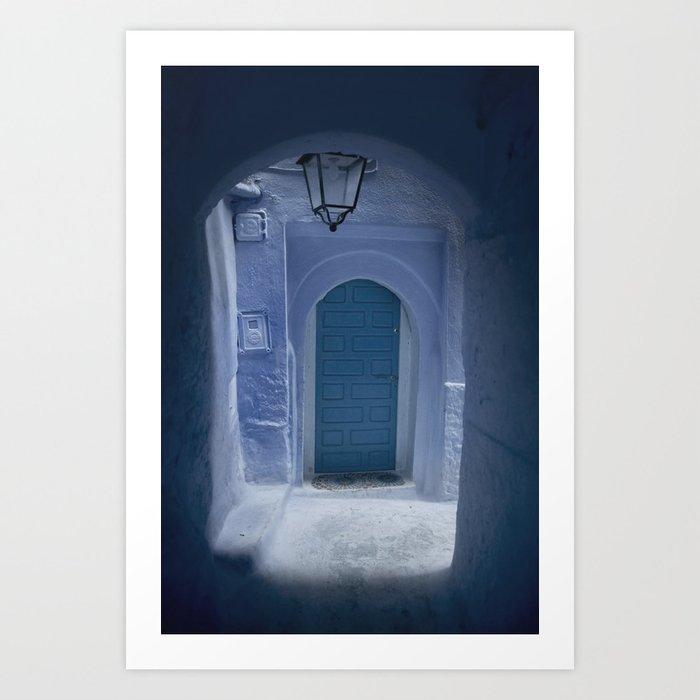 Chefchaouen Passage Art Print