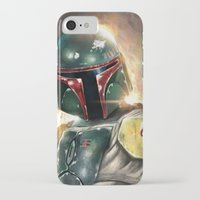 boba iPhone & iPod Cases featuring Boba Fett by Mishel Robinadeh