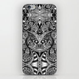 Drawing Floral Zentangle G6B iPhone Skin