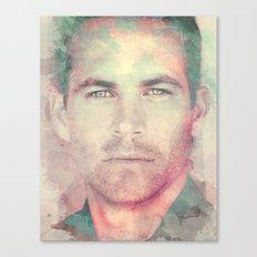 PAUL WALKER R.I.P Canvas Print