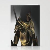 skyrim Stationery Cards featuring Skyrim Armor by J.A.C