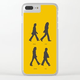 Abbey Road - Yellow Clear iPhone Case