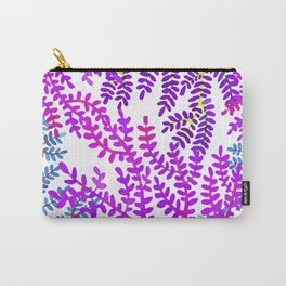 Violet sea corals. Carry-All Pouch