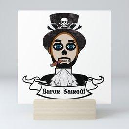 Baron Samedi Portrait Mini Art Print