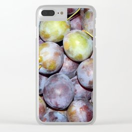 Food home cooking still life plates Clear iPhone Case