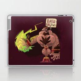 Banishing Flat Laptop & iPad Skin