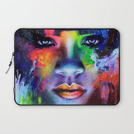 Rihanna Colors Laptop Sleeve