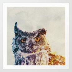 Ugle Art Print
