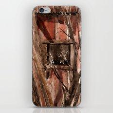 Barn window iPhone & iPod Skin